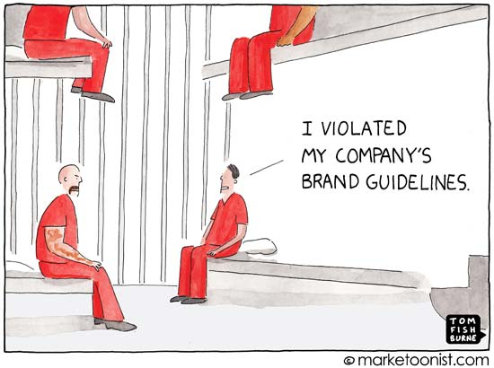 Tom Fishburne – Brand Guidelines